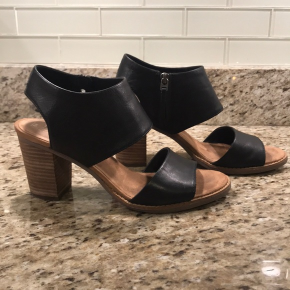 Toms Shoes | Toms Black Leather Majorca